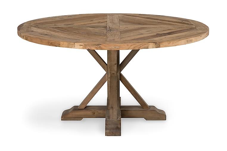 Lyon Spisebord 150 cm Rundt - Vintage Alm - Møbler - Bord - Spisebord & kjøkkenbord
