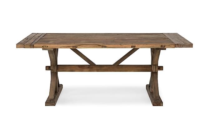 Lyon Spisebord 200x100 cm - Vintage Natur - Møbler - Bord - Spisebord & kjøkkenbord
