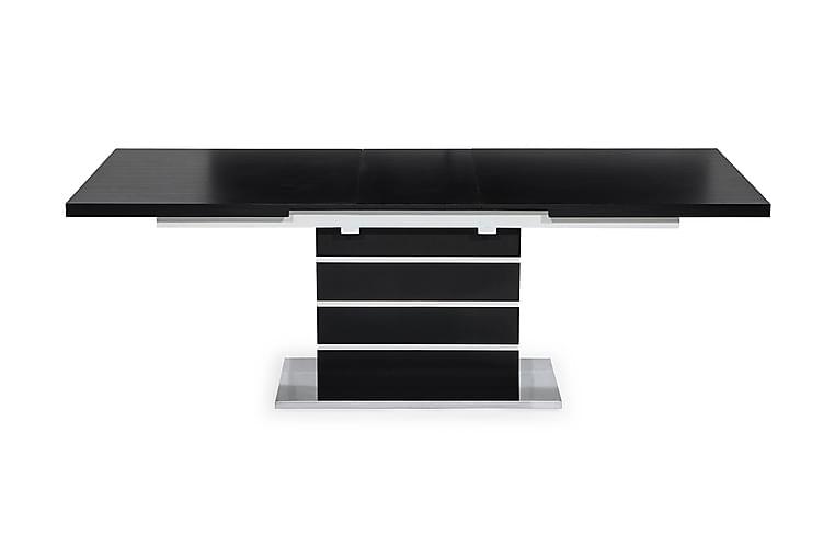 Macahan Forlengningsbart Spisebord 180 cm - Svart/Hvit - Møbler - Bord - Spisebord & kjøkkenbord