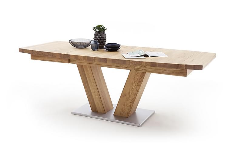 Managua Spisebord 140 cm - Tre/Natur - Møbler - Bord - Spisebord & kjøkkenbord