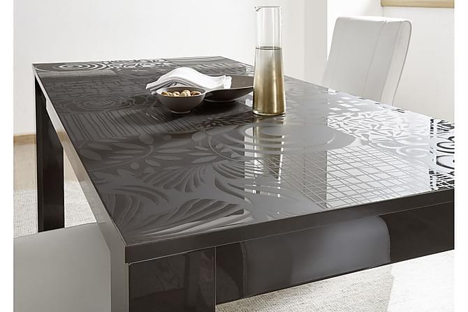 Mironne Forlengningsbart Spisebord 180 cm - Hvit/Beige/Svart/Grå - Møbler - Bord - Spisebord & kjøkkenbord