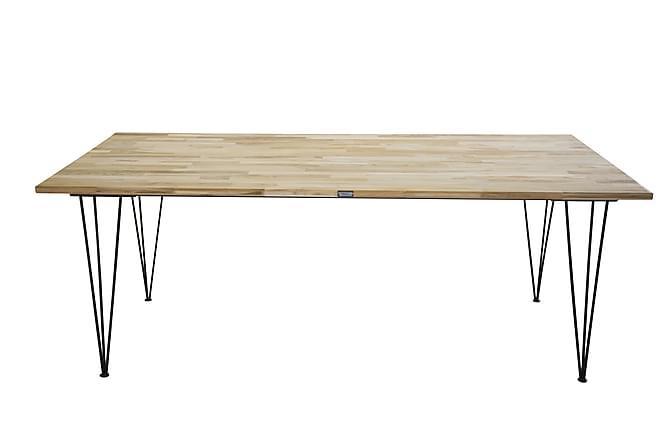 Miva Spisebord - Tre/Svart - Møbler - Bord - Spisebord & kjøkkenbord