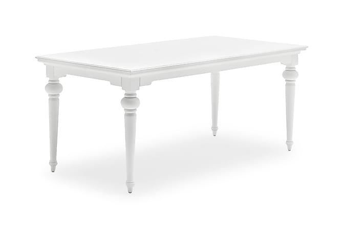 Provence Spisebord 180 cm - Hvit - Møbler - Bord - Spisebord & kjøkkenbord