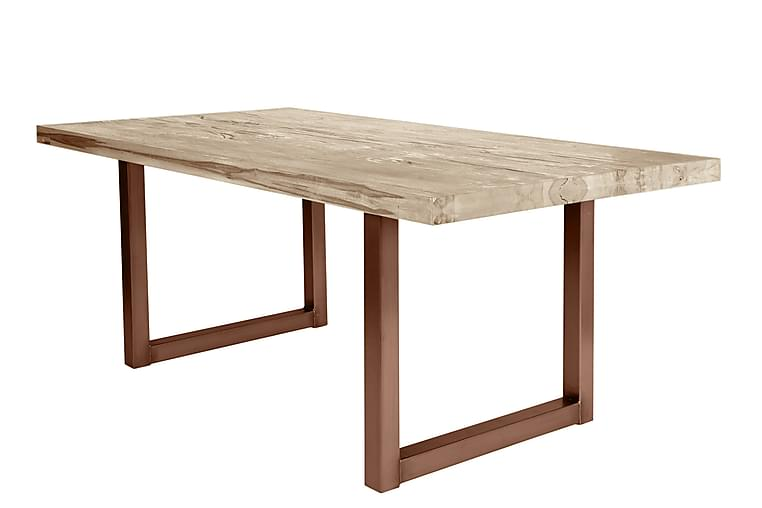 Rotelle Spisebord - Hvit/Brun - Møbler - Bord - Spisebord & kjøkkenbord