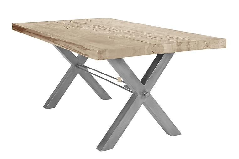 Rotelle Spisebord - Hvit/Sølv - Møbler - Bord - Spisebord & kjøkkenbord