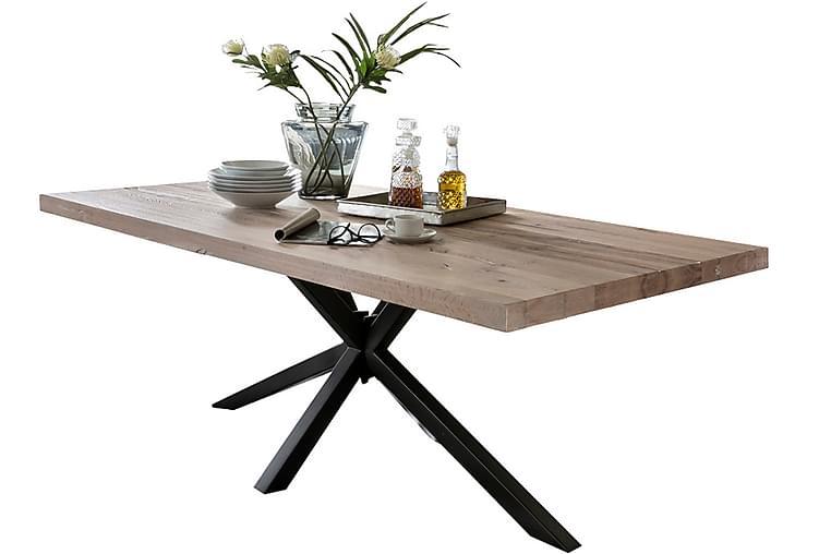 Rotelle Spisebord - Hvit/Svart - Møbler - Bord - Spisebord & kjøkkenbord