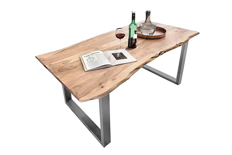 Rotelle Spisebord - Tre/Natur/Sølv - Møbler - Bord - Spisebord & kjøkkenbord
