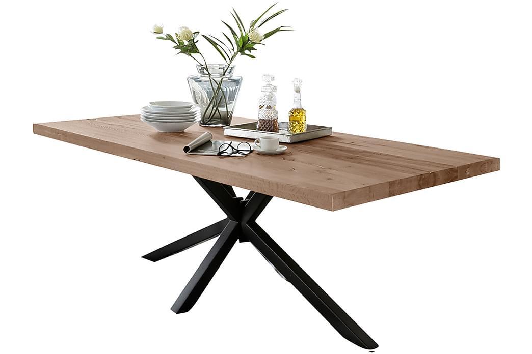Rotelle Spisebord - Tre/Natur/Svart - Møbler - Bord - Spisebord & kjøkkenbord