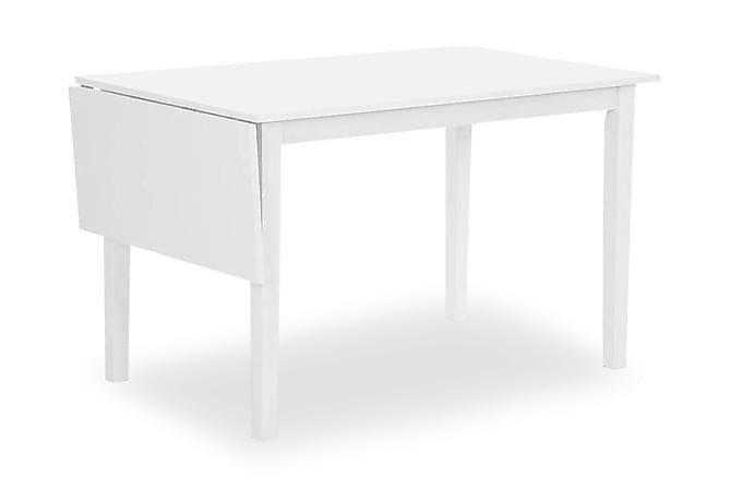 Sander Forlengningsbart Spisebord 120 cm - Hvit - Møbler - Bord - Spisebord & kjøkkenbord