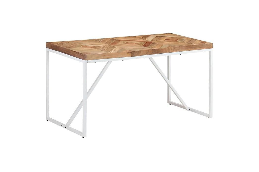 Spisebord 140x70x76 cm heltre akasie og mango - Brun - Møbler - Bord - Spisebord & kjøkkenbord