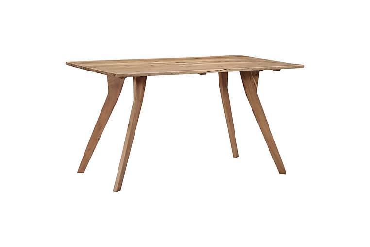 Spisebord 140x80x76 cm heltre akasie - Møbler - Bord - Spisebord & kjøkkenbord
