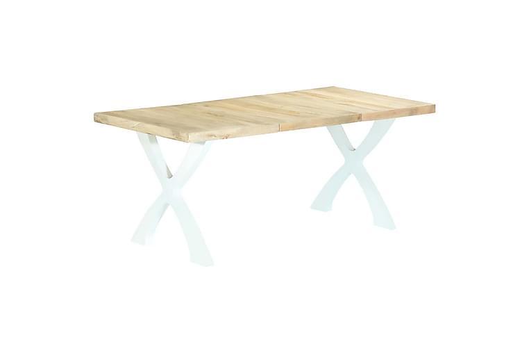 Spisebord 180x90x76 cm heltre mango - Brun - Møbler - Bord - Spisebord & kjøkkenbord