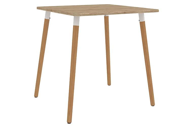 Spisebord 80x80x75 cm metall - Møbler - Bord - Spisebord & kjøkkenbord