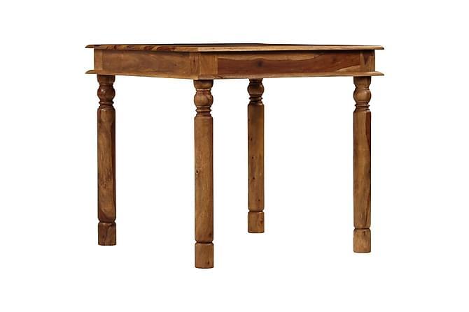 Spisebord heltre indisk rosentre 80x80x77 cm - Møbler - Bord - Spisebord & kjøkkenbord