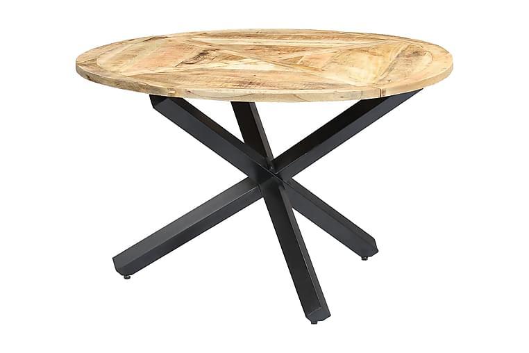 Spisebord rundt 120x76 cm heltre mango - Brun - Møbler - Bord - Spisebord & kjøkkenbord