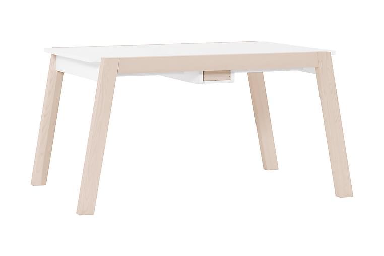 SPOT Sammenleggbart Spisebord Tre / Natur / Hvit - VOX - Møbler - Bord - Spisebord & kjøkkenbord