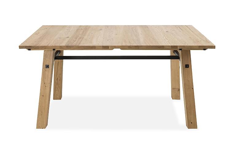 Stockholm Spisebord 160 cm - Hvit/Beige - Møbler - Bord - Spisebord & kjøkkenbord