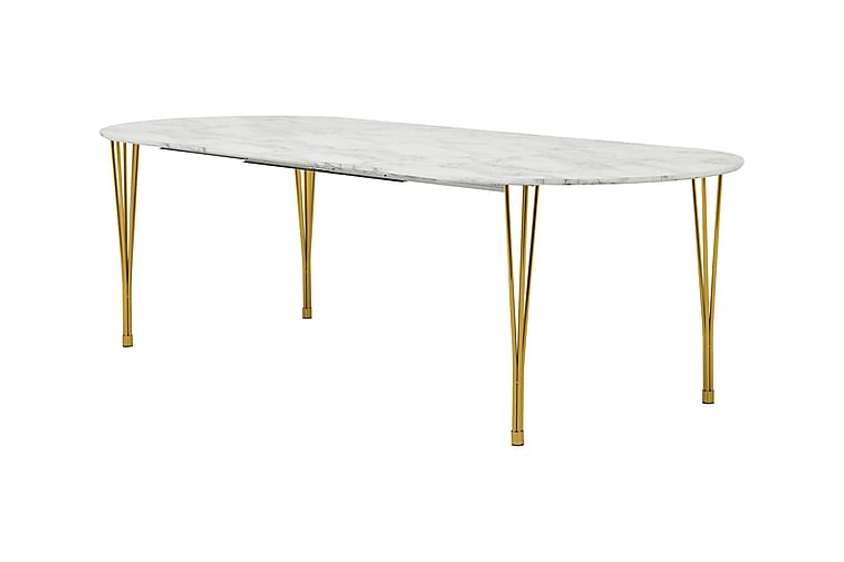 Tyson Forlengningsbart Spisebord 160 cm Ovalt