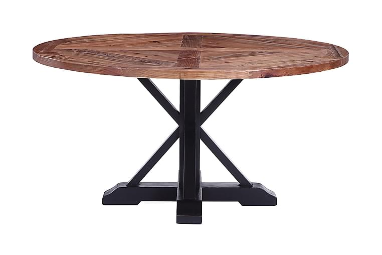 Zahner Spisebord Rundt 150 cm - Svart - Møbler - Bord - Spisebord & kjøkkenbord