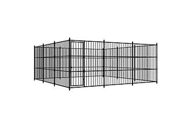 Utendørs hundegård 450x450x185 cm