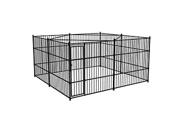 Utendørs hundegård 400x400 cm