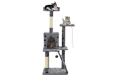 Foxy Kattetre med klorestolper 120 cm Sisal Poteavtrykk