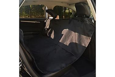 Bilsetetrekk for kjæledyr 148x142 cm svart