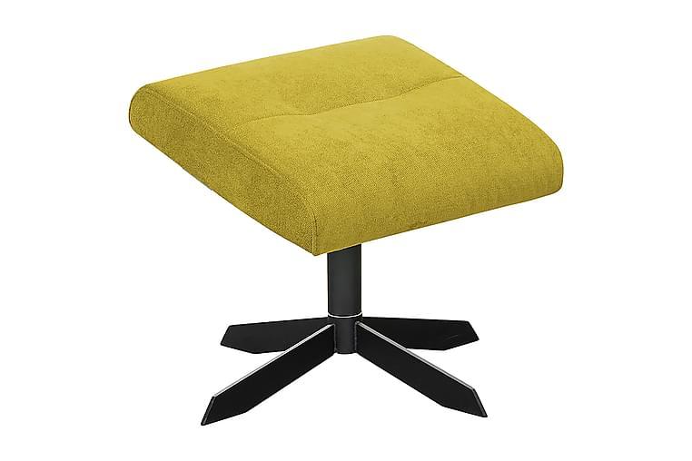 Algemesi Fotskammel - Gul - Innredning - Små møbler - Puff & sittepuffer