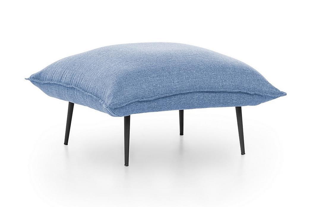 Fotskammel - Blå - Innredning - Små møbler - Puff