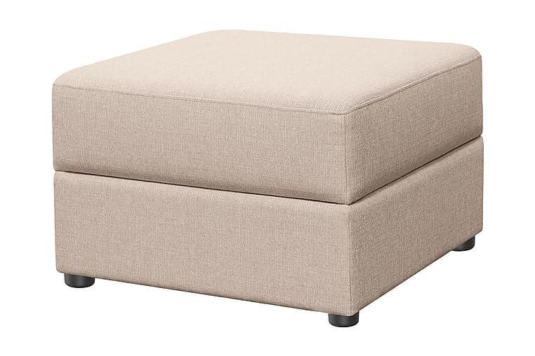Nebraska Fotskammel - Beige - Innredning - Små møbler - Puff & sittepuffer