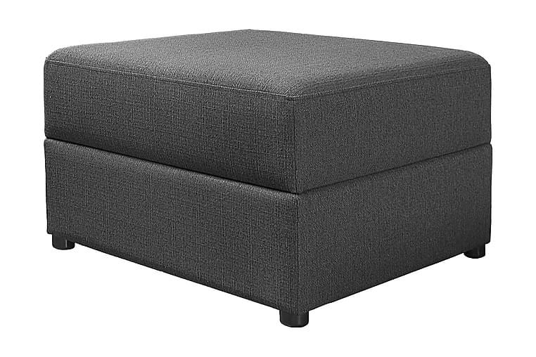 Nebraska Fotskammel - Mørkegrå - Innredning - Små møbler - Puff & sittepuffer