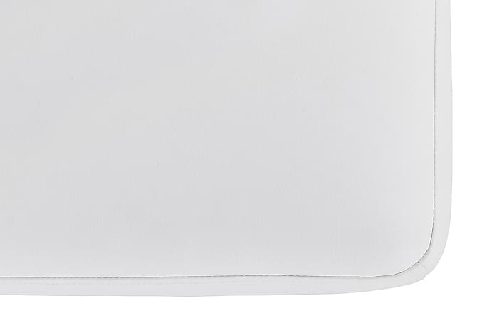 Wire Fotskammel 60 cm Økolær - Hvit - Møbler - Lenestoler - Fotskammel