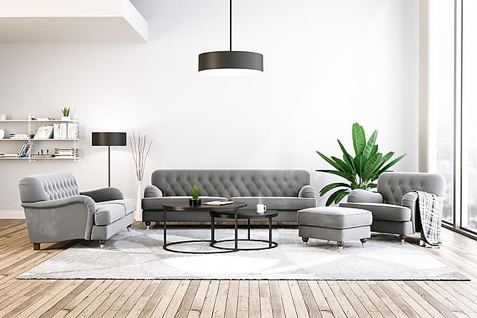 Howard Cantor Lenestol - Sølvgrå - Møbler - Lenestoler - Howard lenestol