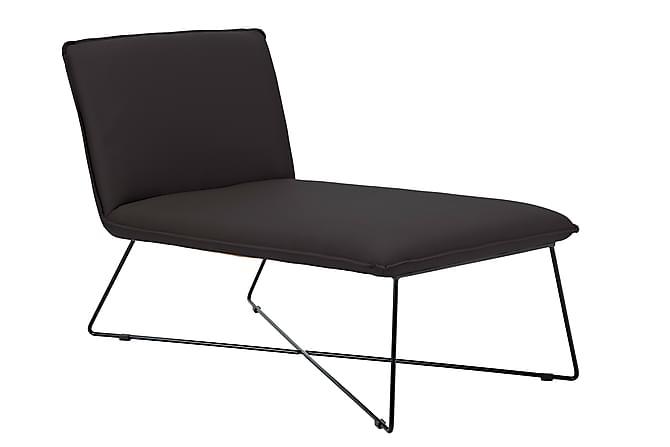 Kris Loungelenestol Kunstlær - Svart - Møbler - Lenestoler - Liggestol