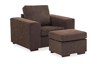 Connect Sofagruppe Lenstol+Fotskammel 70 cm