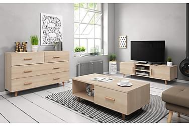 Danderyd Stuepakke TV-benk+Skjenk+Sofabord
