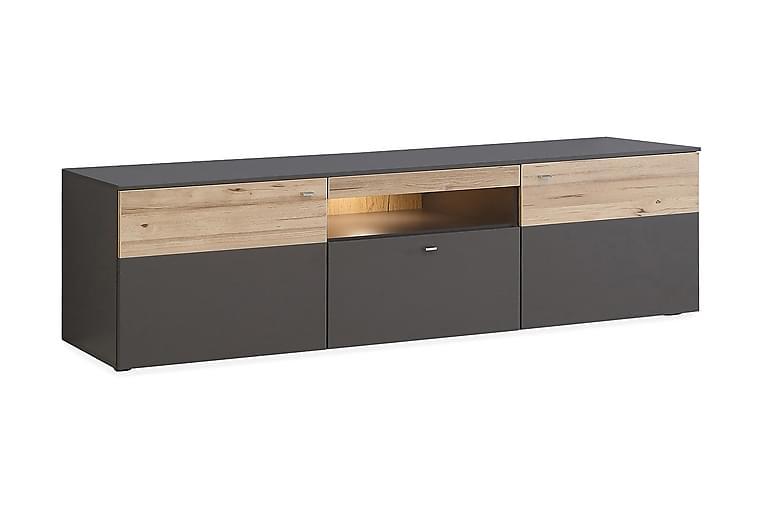 Ameysford TV-Benk 209.8 cm - Grå/Brun - Møbler - Medie- & TV-møbler - TV-benk & mediabenk