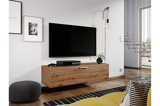 Aukievah TV-Benk 120 cm - Eik - Møbler - Medie- & TV-møbler - TV-benk & mediabenk