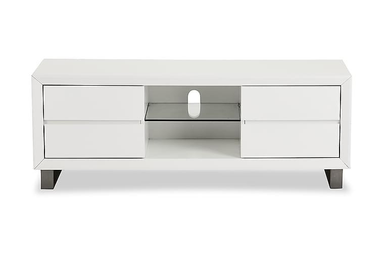 Base TV-benk 150 cm - Hvit - Møbler - Medie- & TV-møbler - TV-benk & mediabenk