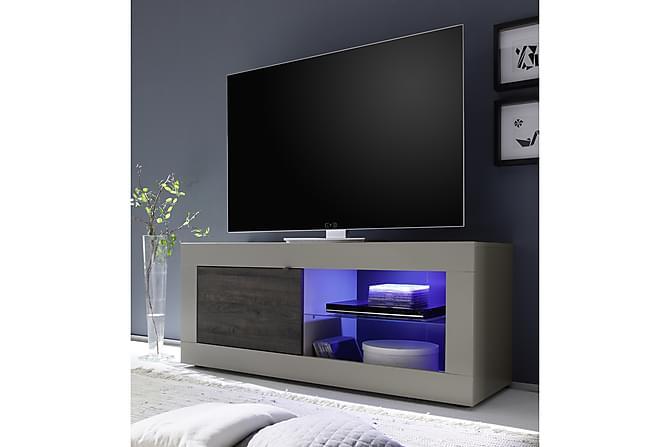 Basic TV-benk 140 cm - Sand - Møbler - Medie- & TV-møbler - TV-benk & mediabenk