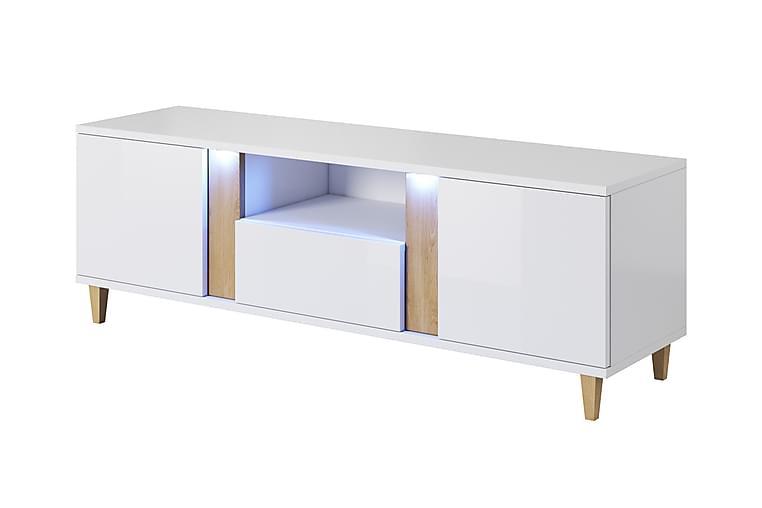 Cryan TV-benk - Hvit - Møbler - Medie- & TV-møbler - TV-benk & mediabenk