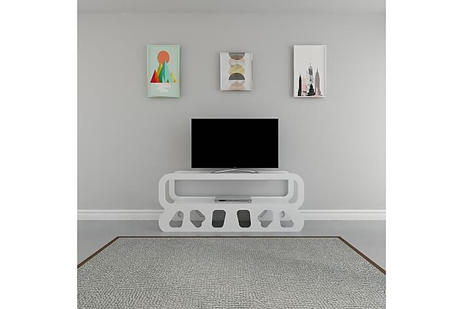 Hejde TV-Benk 100 cm - Hvit - Møbler - Medie- & TV-møbler - TV-benk & mediabenk