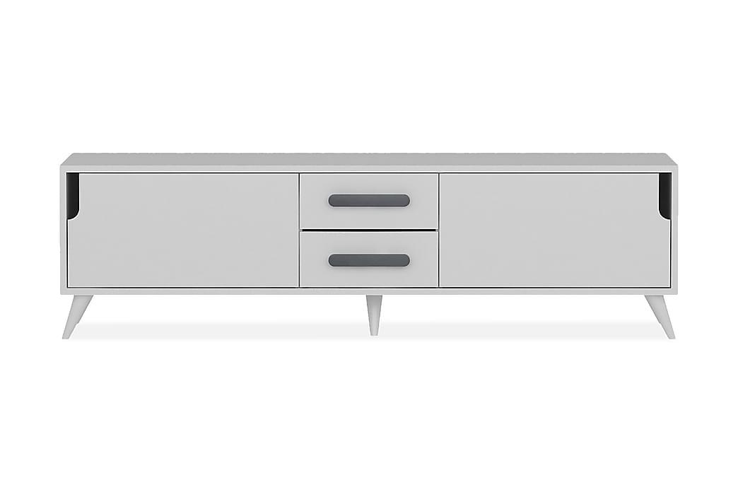 Hejde TV-Benk 160 cm - Hvit - Møbler - Medie- & TV-møbler - TV-benk & mediabenk