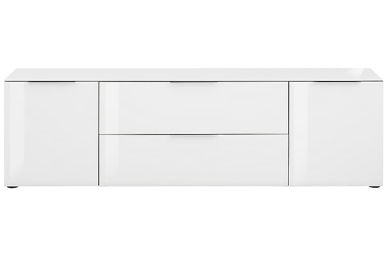 Laufeld Tv-Benk 180.4X53.9 Cm - Hvit - Møbler - Medie- & TV-møbler - TV-benk & mediabenk