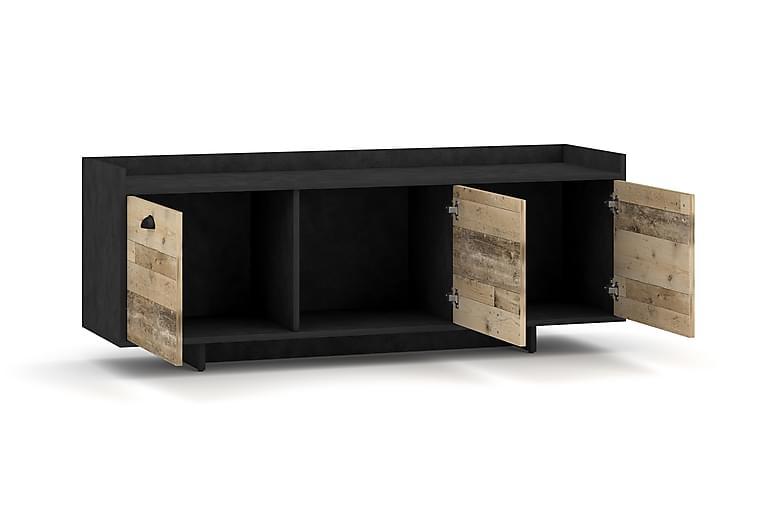 Northup TV-benk 140x53 cm - Grå - Møbler - Medie- & TV-møbler - TV-benk & mediabenk