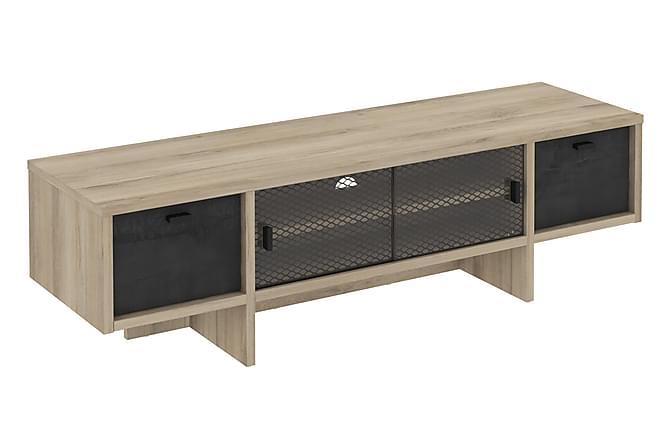 Romein TV-benk 140 cm - Brun - Møbler - Medie- & TV-møbler - TV-benk & mediabenk