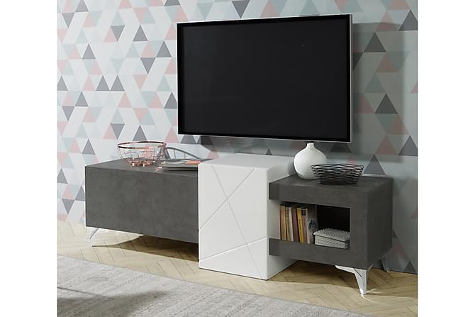 Squirrels TV-Benk 170 cm - Grå/Hvit - Møbler - Medie- & TV-møbler - TV-benk & mediabenk