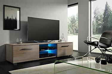 Storsjö TV-benk 140 cm LED-belysning