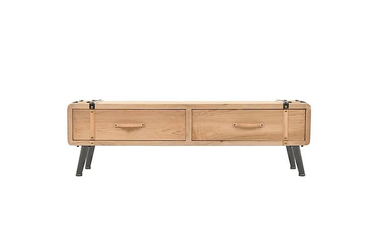 TV-benk heltre gran 120x33x35 cm - Møbler - Medie- & TV-møbler - TV-benk & mediabenk