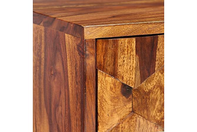 TV-benk heltre indisk rosentre 140x30x40 cm - Møbler - Medie- & TV-møbler - TV-benk & mediabenk